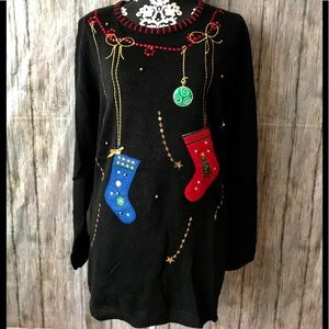 White Stag Christmas Ugly Sweater